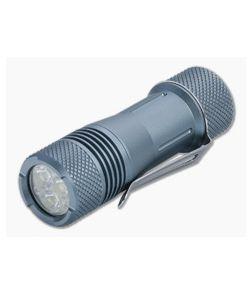 Maratac Tri Flood Gen 2 Afterburner Glow Gray Aluminum 18650 LED Flashlight