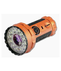 Olight Marauder 2 LTD Orange 14000 Lumen Rechargeable Flashlight w/ Power Adaptor