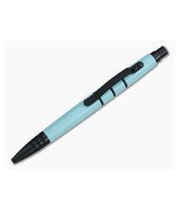 Tuff-Writer Mini Click Aluminum Ink Pen Teal Cerakote
