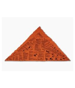 Survival Metrics Head for Survival Orange Triangular Bandana Cravat