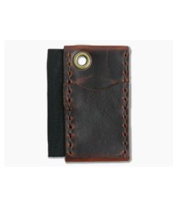 Hitch & Timber Micro Runt Autumn Harvest Leather EDC Slip & Pen Holder