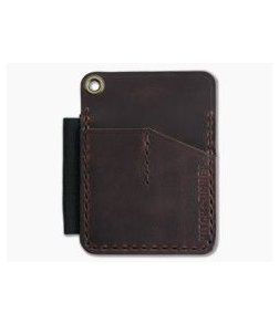 Hitch & Timber Mini Engineer Caddy Autumn Harvest Leather EDC Utility Wallet