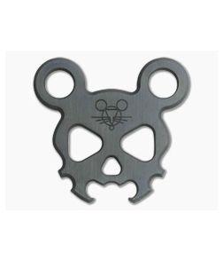 GiantMouse Morbid Mouse Mini Zirconium Bottle Opener Keychain