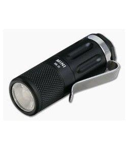 FourSevens Mini MK III 900 Lumen RCR123 LED Flashlight MKIII-MINI-BLK