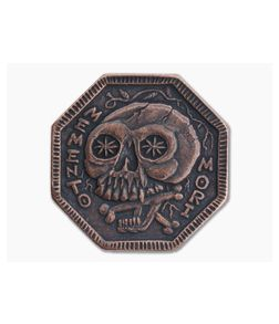 Shire Post Mint Memento Mori / Memento Vivere Coin Copper