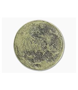 "Shire Post Mint Super Harvest Moon Large 1.5"" Coin Brass"