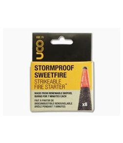 UCO Gear Stormproof Sweetfire Strikeable Fire Starter - 8 Pack