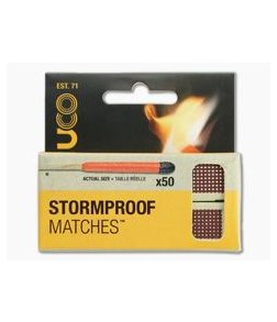UCO Gear Stormproof Matches - 50 Matches