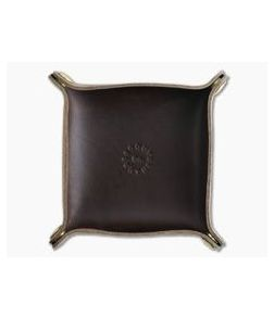 Scout Leather Co. Mini Valet Tray Brown Leather