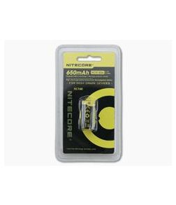 NiteCore CR123A 650mAh Rechargeable Battery