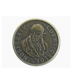 Shire Post Mint Nosferatu Count Orlok Coin Brass