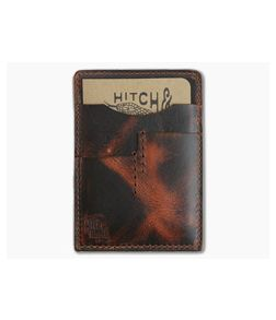 Hitch & Timber Notebook Caddy 2.0 Autumn Harvest Leather EDC Utility Wallet