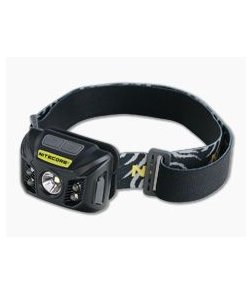 Nitecore NU32 Multi-Color LED 550 Lumen Mirco-USB Rechargeable Headlamp