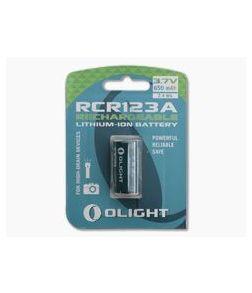 Olight RCR123A Li-ion Rechargeable Battery 3.7v 650mAh