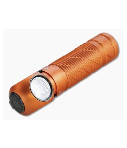 Olight Perun 2 Orange Limited Multi-function Headlamp 2500 Lumen Cool White Rechargeable Flashlight