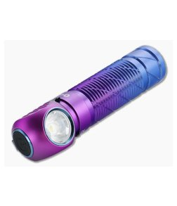 Olight Perun 2 Purple Gradient Limited Multi-function Headlamp 2500 Lumen Rechargeable Flashlight