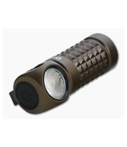 Olight Perun Mini Desert Tan Limited Edition 1000 Lumen Multi-function Rechargeable Headlamp Flashlight