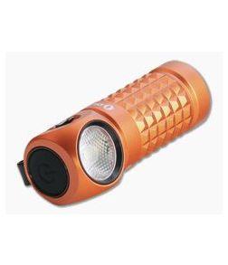 Olight Perun Mini Orange Limited Edition 1000 Lumen Multi-function Rechargeable Headlamp Flashlight