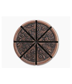Shire Post Mint Pizzas of Eight Supreme Pizza Copper Breakable Coin