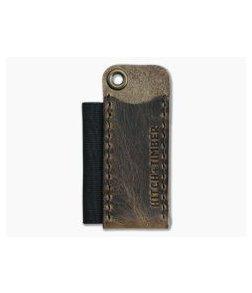 Hitch & Timber Pocket Runt Pioneer Crazy Horse Leather Slip & Pen Holder