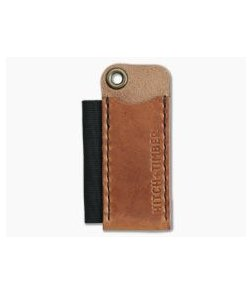 Hitch & Timber Pocket Runt Pioneer English Tan Leather Slip & Pen Holder