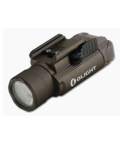 Olight PL-PRO Desert Tan Valkyrie 1500 Lumen Weapon Light