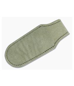 MKM Magnetic Leather Pocket Sheath Green PLSM01-GR