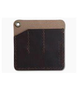 Hitch & Timber Pocket Pack Triple Slip EDC Organizer Autumn Harvest Leather