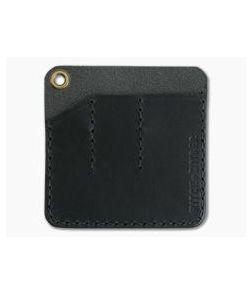 Hitch & Timber Pocket Pack Triple Slip EDC Organizer Black Leather