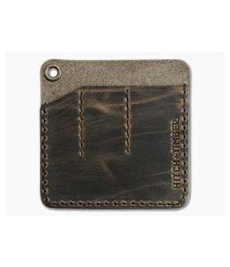 Hitch & Timber Pocket Pack Triple Slip EDC Organizer Crazy Horse Leather