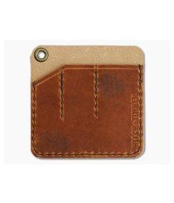 Hitch & Timber Pocket Pack Triple Slip EDC Organizer English Tan Leather