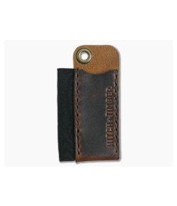 Hitch & Timber Pocket Runt Cadet Brown Nut Leather Slip & Pen Holder