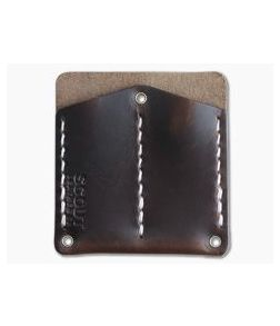 Scout Leather Co. Pocket Protector Brown Leather