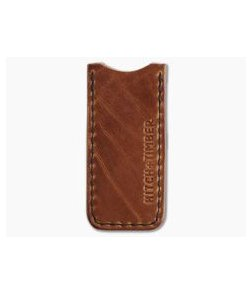 Hitch & Timber Proper Slip No Loop English Tan Leather EDC Slip