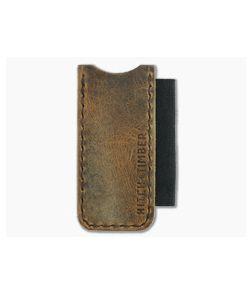 Hitch & Timber Proper Slip Crazy Horse Leather EDC Slip & Pen Holder