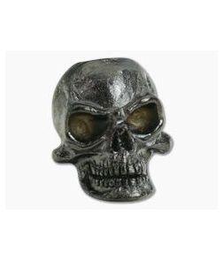 Schmuckatelli Protech Skull Bead Hematite Plated Matte Finish
