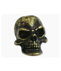 Schmuckatelli Protech Skull Bead Roman Brass Oxide Finish