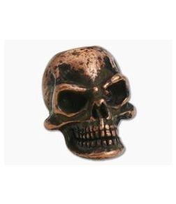 Schmuckatelli Protech Skull Bead Roman Copper Oxide Finish