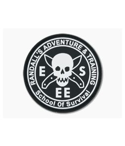 ESEE Rat Patch Logo PVC with Velcro Backing