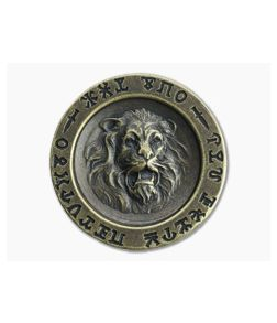 Shire Post Mint King Conan Aquilonian Luna Coin Brass