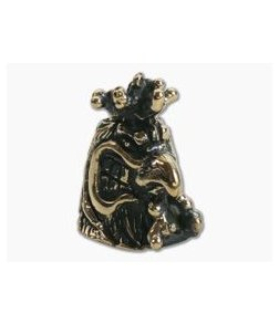 Lion Armory Mad Rooster Bead Brass