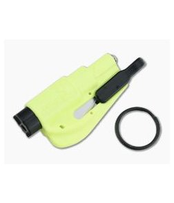 ResQMe Keychain Rescue Tool Neon Yellow