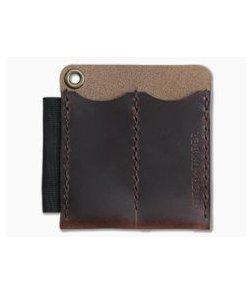 Hitch & Timber Runt 2.0 XL Autumn Harvest Leather EDC Slip & Pen Holder