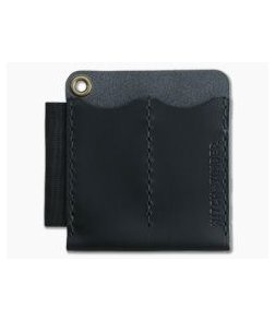 Hitch & Timber Runt 2.0 XL Black Leather EDC Slip & Pen Holder