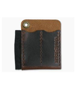 Hitch & Timber Runt 2.0 Brown Nut Leather EDC Slip & Pen Holder