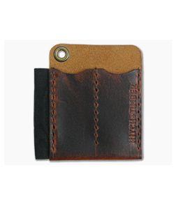 Hitch & Timber Runt 2.0 Card Holder Autumn Harvest Leather EDC Slip & Pen Holder