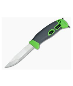Light My Fire Mora FireKnife with Integral FireSteel Green