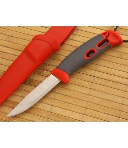 Light My Fire Mora FireKnife with Integral FireSteel Red