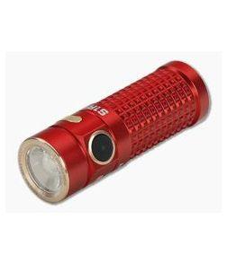 Olight S1R Baton II Red Limited Rechargeable 1000 Lumen Flashlight Turbo