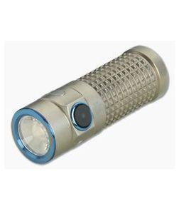 """Olight S1R II Baton Limited Titanium """"Winter"""" Rechargeable 850 Lumen Flashlight"""